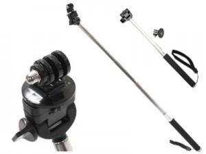 Monopad 20-97cm mount for GOPRO and other cameras and photo at Wasserman.eu