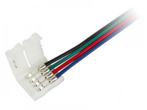 LED0153 RGB LED strip connector (10mm 5050) at Wasserman.eu