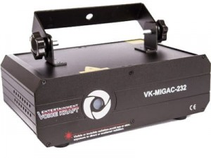 Voice Kraft X-MAGIC 232 Laser projector at Wasserman.eu