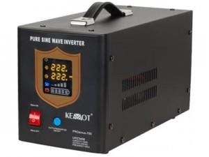 KEMOT PROsinus-700 emergency power source at Wasserman.eu