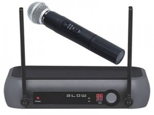 Blow PRM 901 wireless microphone at Wasserman.eu