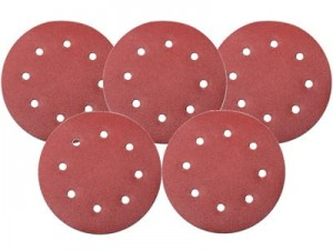 Five 180mm sanding discs P180 DED77646 at Wasserman.eu