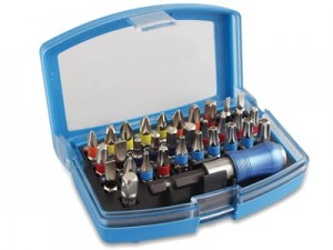 Screwdriver bits, 32 pcs at Wasserman.eu