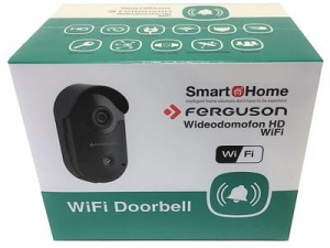 HD WiFi IP video door phone Ferguson FS1DB Smart Home at Wasserman.eu