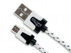 Media-Tech MT5102W charger micro USB cable white at Wasserman.eu