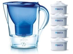 Dzbanek Brita Marella XL niebieski + 4 filtry Maxtra w sklepie Wasserman.eu