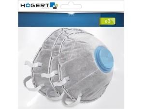 Hogert HT5K152 Maska przeciwpyłowa 3szt z filtrem FFP2 w sklepie Wasserman.eu