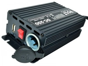 24 / 12V 15A + USB Volt DC-200 v2 converter at Wasserman.eu