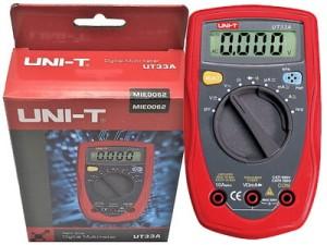 Digital multimeter UNI-T UT33A at Wasserman.eu