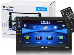 "Radio BLOW AVH-9880 2DIN LCD 7 ""multimedia + GPS at Wasserman.eu"