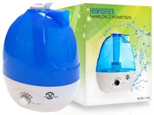 Ultrasonic humidifier T-326, LED RGB at Wasserman.eu