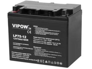 Akumulator żelowy Vipow 12V 75Ah w sklepie Wasserman.eu