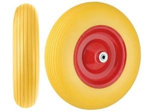 Koło do taczki pełne, pianka PU, 4.00x8 plus oś w sklepie Wasserman.eu