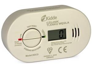 KIDDE 5DCO carbon monoxide sensor with LCD display at Wasserman.eu