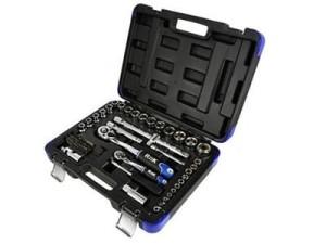 """Socket wrench set 72 pcs. 1/4 """"-1/2"""" R&K RK00200 at Wasserman.eu"""