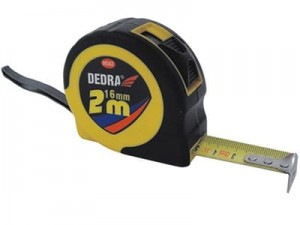 Measure 2m 16mm ABS rubber Dedra M282 at Wasserman.eu