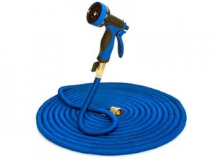 30m Q42H Deluxe extensible garden hose. Gun, connectors. at Wasserman.eu