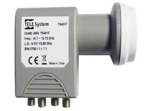 Konwerter SAT Quad TELE System TS401F poczwórny w sklepie Wasserman.eu
