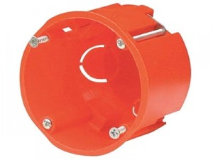 Flush box PK-60 regips + screws at Wasserman.eu