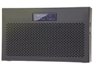 DAB + FM digital radio. ART AZ1000 clock radio at Wasserman.eu