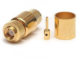 Rp sma gold plug for H1000 cable at Wasserman.eu