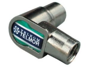 Telmor WKW-506 Wtyk RF kątowy IEC żeński w sklepie Wasserman.eu