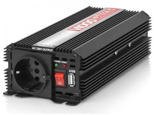 Voltage converter 24V / 230V 1000W / 500W Blow 5854 at Wasserman.eu