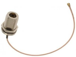 U.fl connector for N female socket at Wasserman.eu
