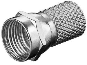 Wtyk F nakręcany na RG6 HQ 6,5mm/20mm w sklepie Wasserman.eu