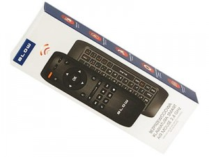 Wireless keyboard with BLOW 84-252 remote control at Wasserman.eu