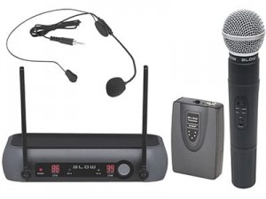 Dynamic and headphone wireless microphones Blow PRM 903 at Wasserman.eu