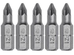 HT1S455 cross screwdriver bits 5 pcs. at Wasserman.eu