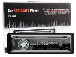 Car radio Voice Kraft VK-8618BT green with bluetooth USB / SD / Aux at Wasserman.eu