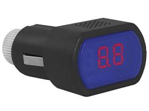 Voltmeter. LTC LXCC1 car battery tester at Wasserman.eu
