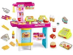 Interactive fast food shop B22D2 at Wasserman.eu