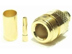 SOCKET N female ON H155 Gold at Wasserman.eu