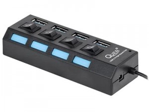 Quer Pro KOM0940 4-port USB 3.0 hub at Wasserman.eu
