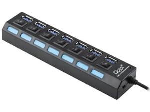 Hub USB 3.0 7-portowy Quer Pro KOM0941 w sklepie Wasserman.eu