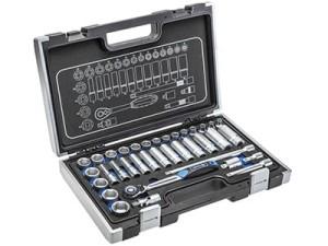 Tool set, 36 pieces Hogert HT1R465 at Wasserman.eu