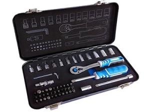 Tool set, 53 pcs. Hogert HT1R485 at Wasserman.eu