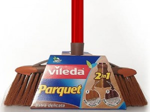 2-in-1 parquet brush Vileda Parquet 136082 at Wasserman.eu