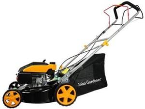 40cm petrol lawn mower with JG G83055 drive at Wasserman.eu