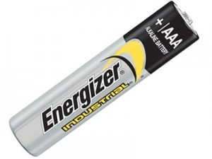 Energizer Industrial LR03 AAA alkaline battery at Wasserman.eu
