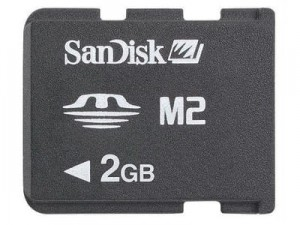 SanDisk Memory Stick M2 - 2GB Sony Ericsson at Wasserman.eu