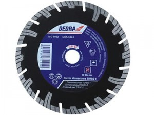 230mm diamond blade for reinforced concrete Dedra H1197 at Wasserman.eu