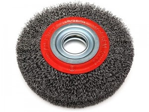 200mm Dedra F34-200 steel wire brush at Wasserman.eu
