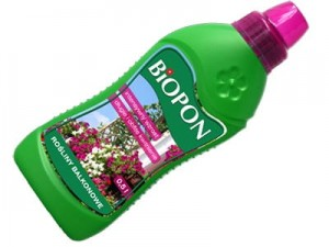 Biopon fertilizer for balcony plants 0.5L liquid at Wasserman.eu