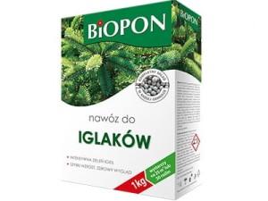 Nawóz Biopon do iglaków karton 1kg w sklepie Wasserman.eu