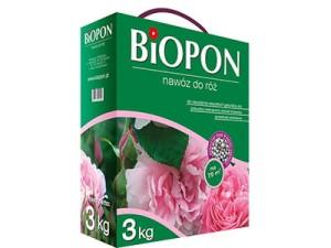 Nawóz Biopon do róż granulat 3kg w sklepie Wasserman.eu