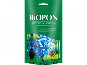 Fertilizer Biopon blue hydrangea 200g at Wasserman.eu